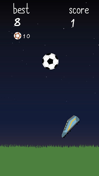 Soccer Juggling gameplay 1